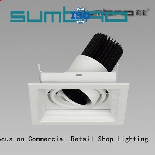 SUMBAO Brand round 33° dw0521 4 inch recessed lighting