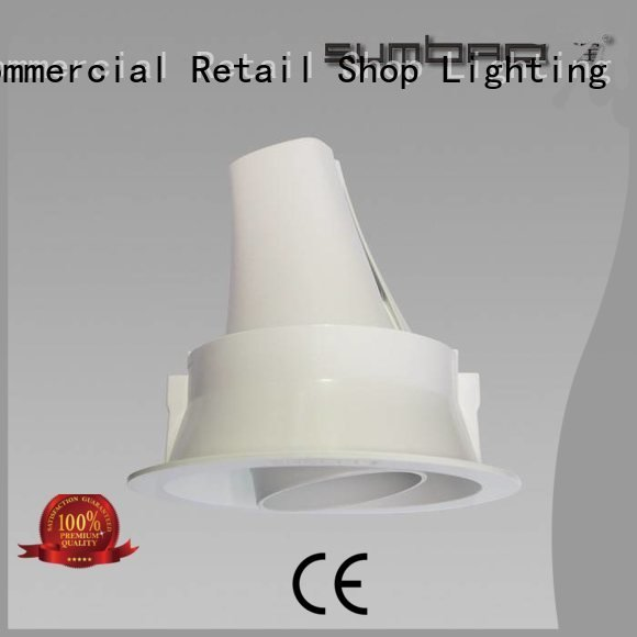 4 inch recessed lighting commercial SUMBAO Brand LED Recessed Spotlight