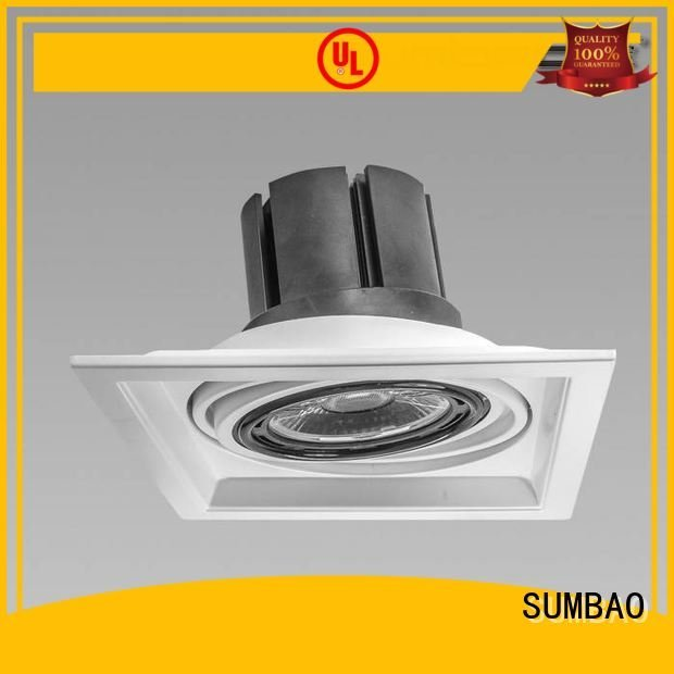Exhibition room ceiling adjustable 4 inch recessed lighting SUMBAO