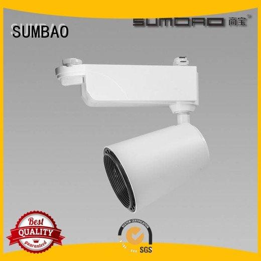 Custom Supermarket LED Track Spotlight smart track light bulbs