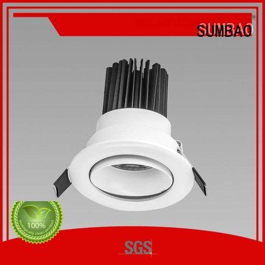 Hot 4 inch recessed lighting 12° luminaires dw0723 SUMBAO Brand