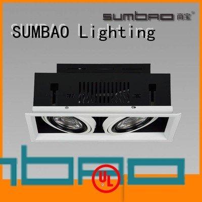 4 inch recessed lighting 465x155mm Specification grade AL LED Recessed Spotlight SUMBAO Warranty