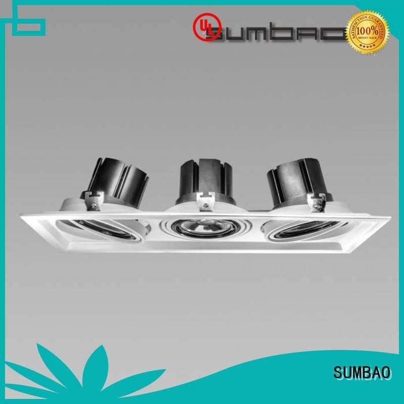 SUMBAO Brand desk dw0282 wash LED Recessed Spotlight retail