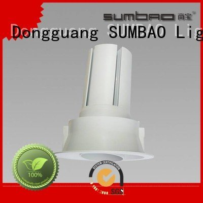 SUMBAO Brand multihead 4 inch recessed lighting Shopping center 3x10W 3x18W