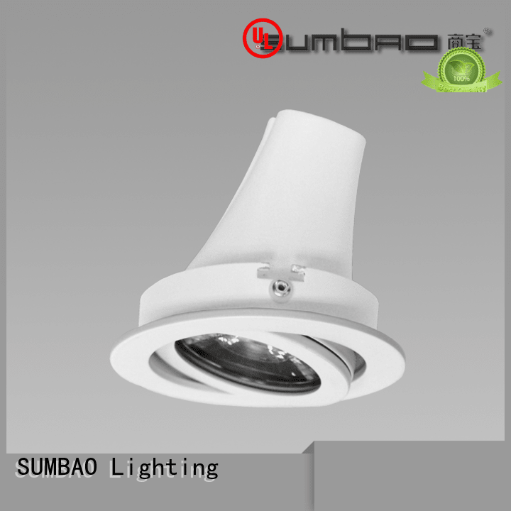 4 inch recessed lighting 12° dw075 OEM LED Recessed Spotlight SUMBAO