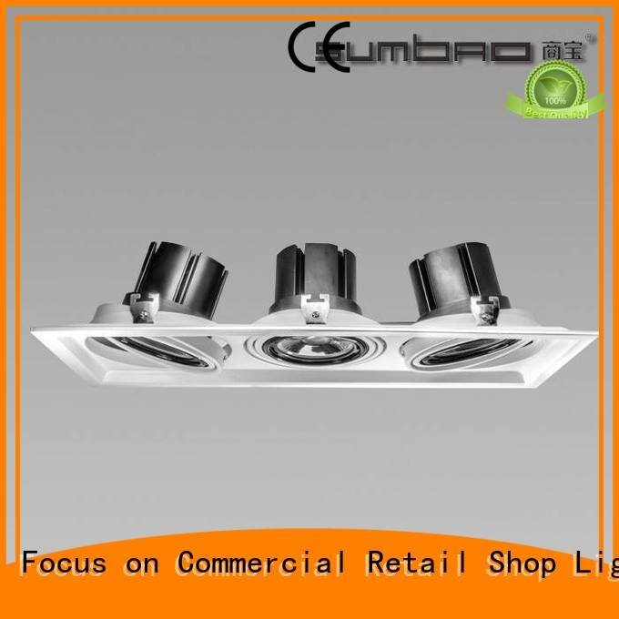 3500K 4000K Furniture store 3x10W 3x18W LED Recessed Spotlight SUMBAO