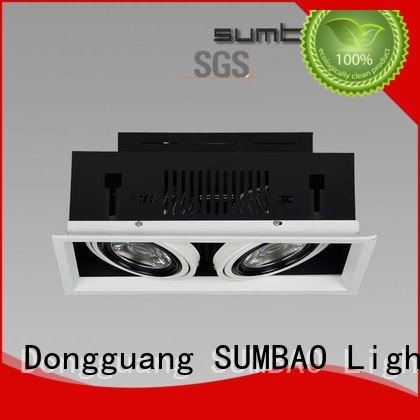 Hot 4 inch recessed lighting adjustable dw066 downlighting SUMBAO Brand