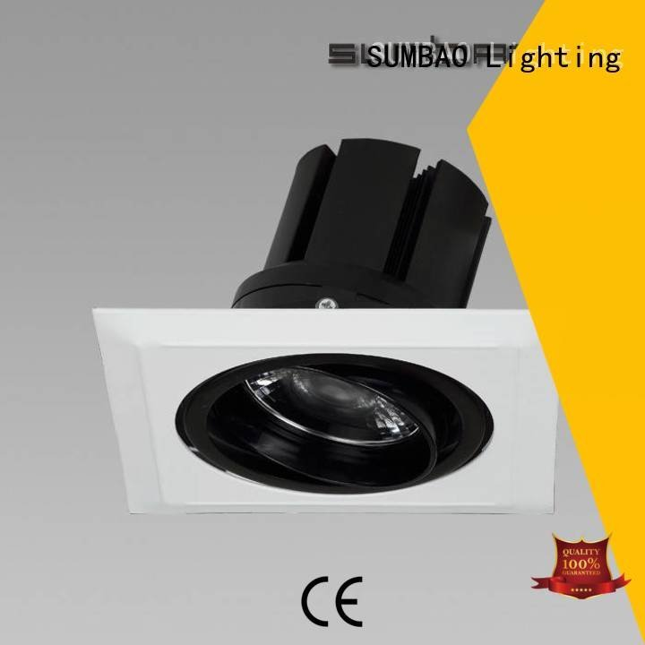 SUMBAO 4 inch recessed lighting luminaires dw0722 3000K
