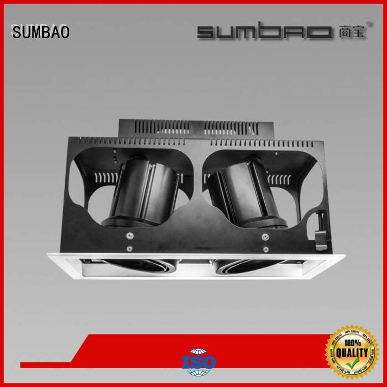 SUMBAO LED Recessed Spotlight 465x155mm trim residences voltage