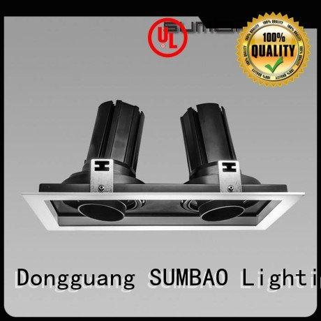 SUMBAO grid LED Recessed Spotlight spotlighting round