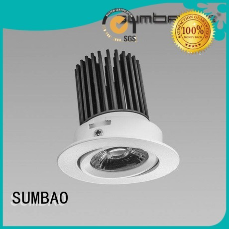 retail Custom superior LED Recessed Spotlight Dumb white SUMBAO
