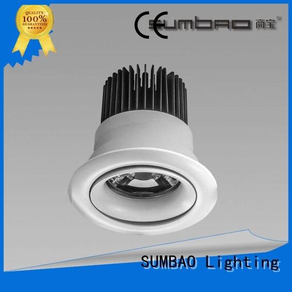 Custom LED Recessed Spotlight 6w hotels head SUMBAO