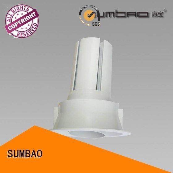 SUMBAO Brand dw0722 voltage LED Recessed Spotlight vottage retail