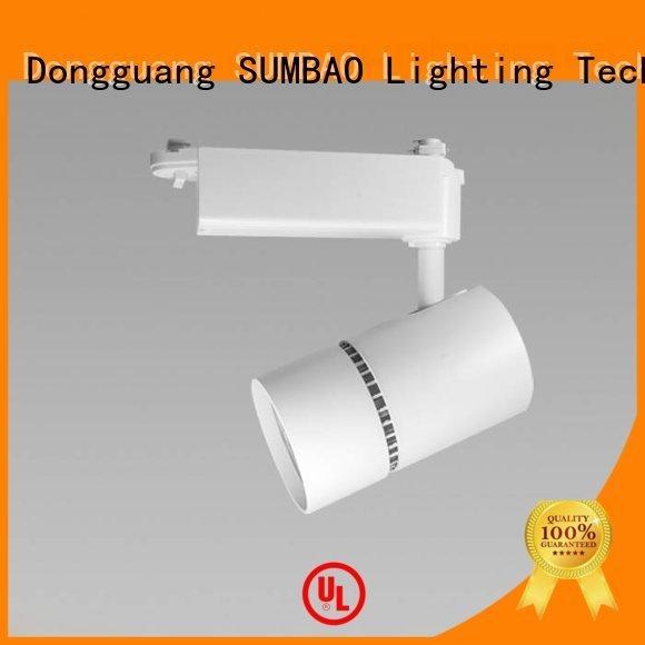 SUMBAO Brand accent Dumb black brightness LED Track Spotlight lighting