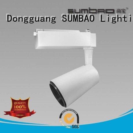 Shopping center Exhibition room Dumb black SUMBAO LED Track Spotlight