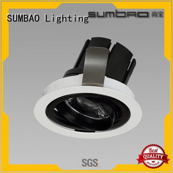 SUMBAO LED Recessed Spotlight museums singlehead cree reccessed