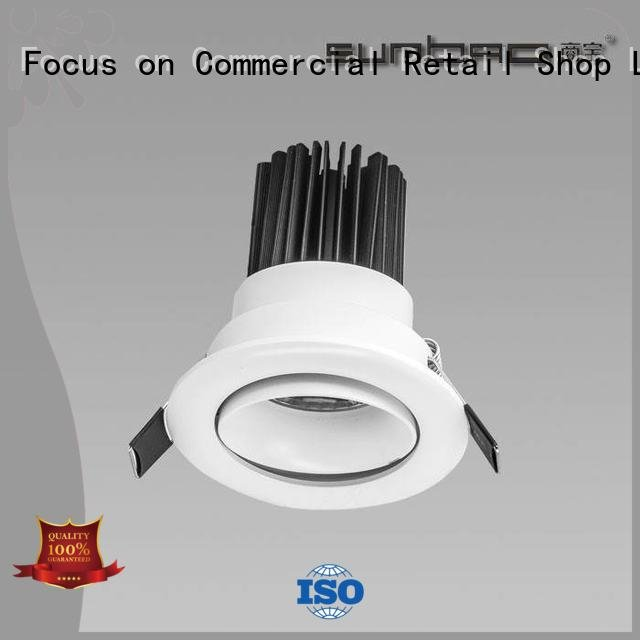 SUMBAO LED Recessed Spotlight Supermarket singlehead Specification grade AL trunk