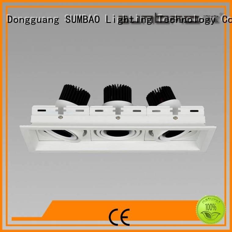 SUMBAO Brand Specification grade AL lamp 4 inch recessed lighting spotlight dw0301