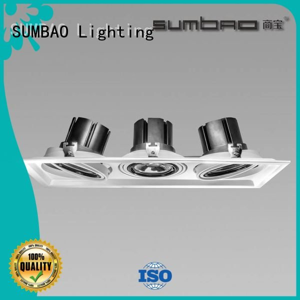 4 inch recessed lighting spots LED Recessed Spotlight 12° SUMBAO