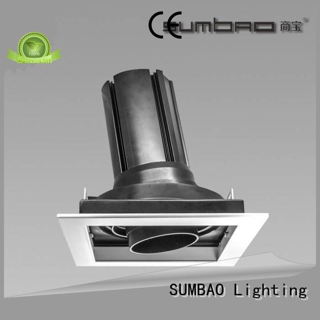 Wholesale dw0282 adjustable LED Recessed Spotlight SUMBAO Brand