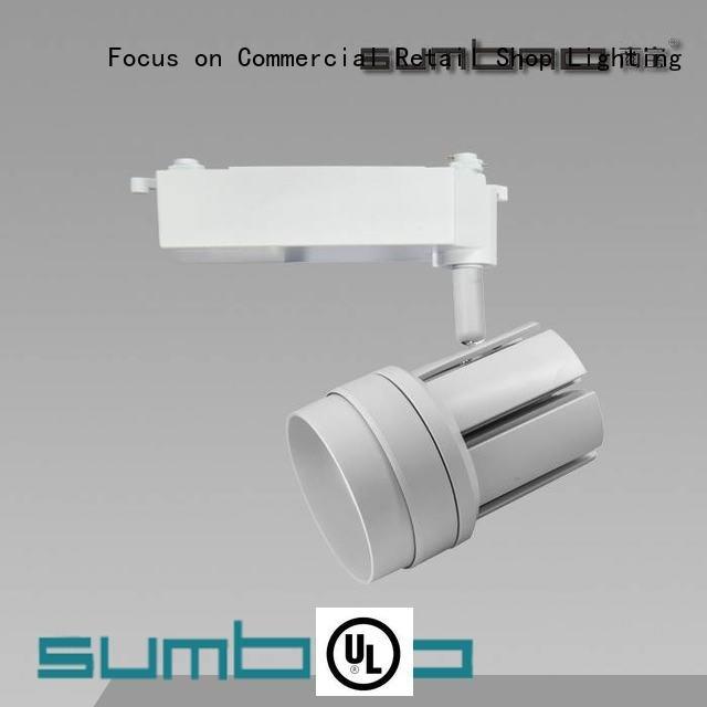 SUMBAO Brand angles 13°20°38°60° 30w LED Track Spotlight