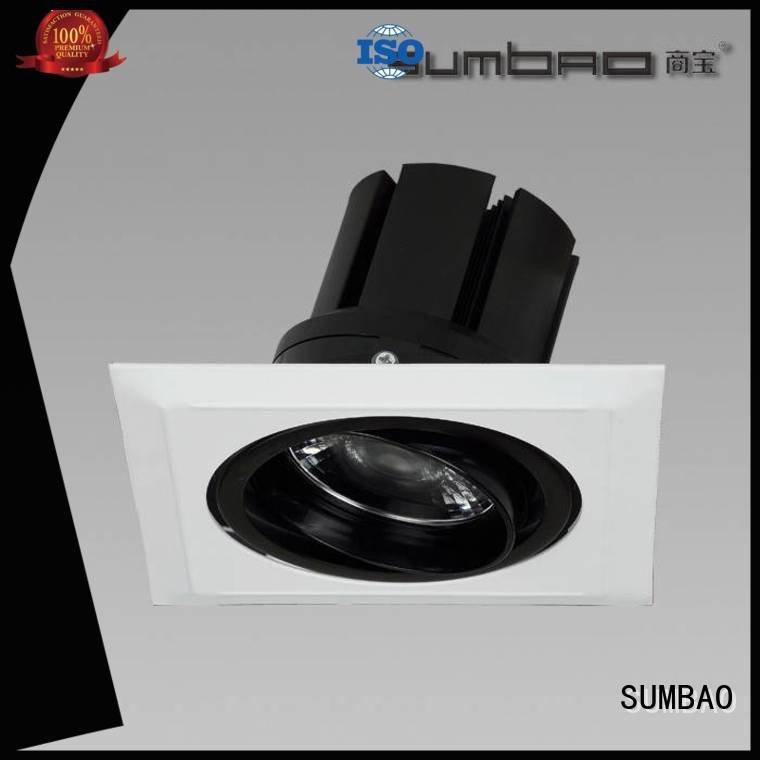 dw0302 Specification grade AL SUMBAO 4 inch recessed lighting