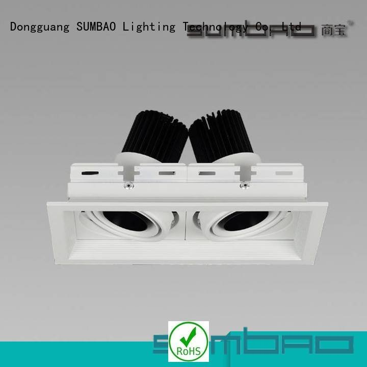 2 recessed led downlight commercial 6w Exhibition room Shopping center