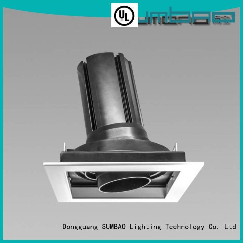 Hot 4 inch recessed lighting Imported COB chip dw0661 retail SUMBAO Brand