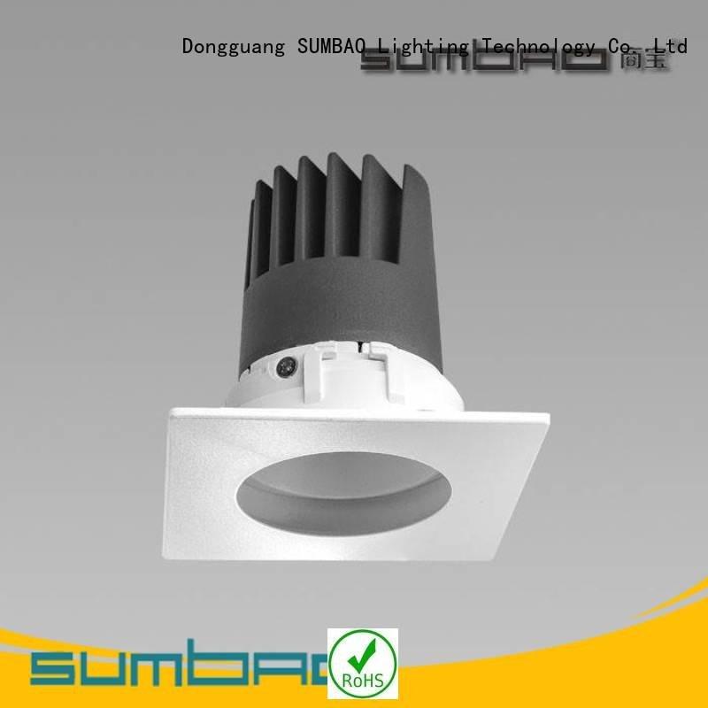 led recessed lighting housing multihead SUMBAO Brand LED Spotlight