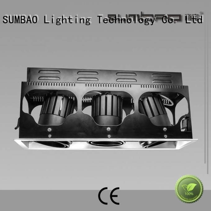 Quality 4 inch recessed lighting SUMBAO Brand 465x155mm LED Recessed Spotlight