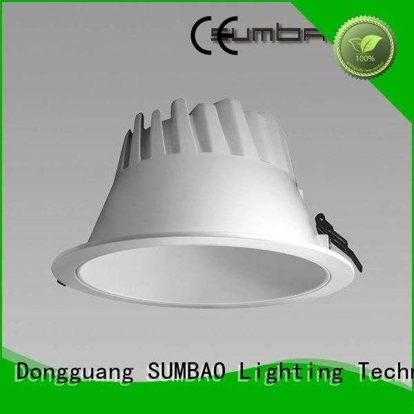 Custom lumen LED Down Light Clothing store led downlighter