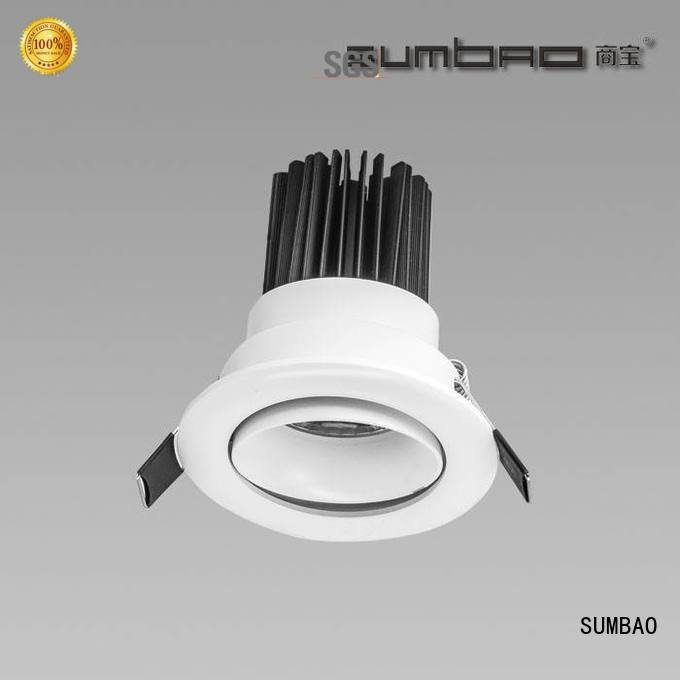 4 inch recessed lighting 18w multihead museums spotlighting