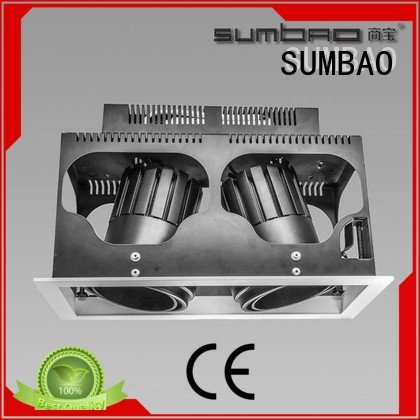 SUMBAO Brand square dw0281 LED Recessed Spotlight high singlehead