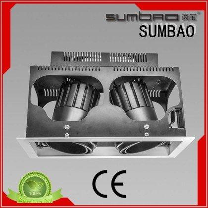 SUMBAO Brand square dw0281 LED Recessed Spotlight high singlehead