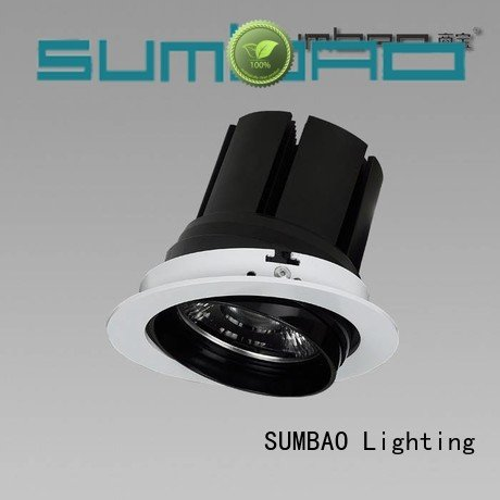 SUMBAO 4 inch recessed lighting dw085 residences round